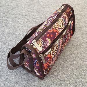 LeSportSac Daniella Crossbody Bag Purple Paisley